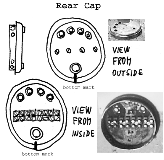 Rear Cap plan